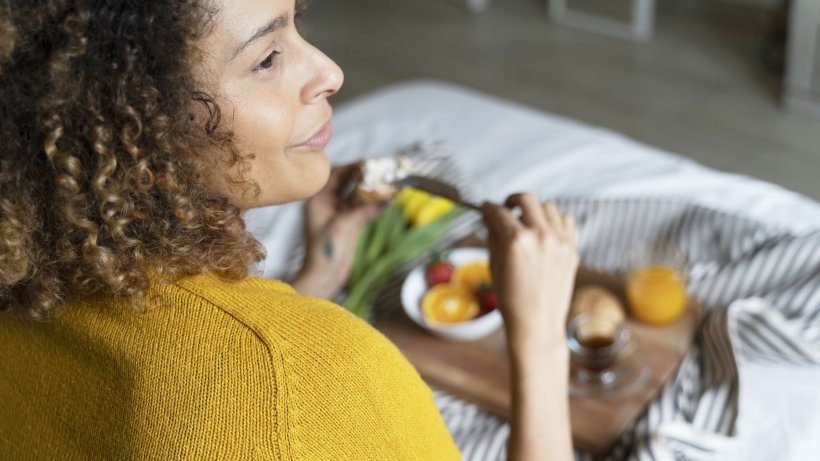 Intuitive eating: Healthy and slim with body feeling