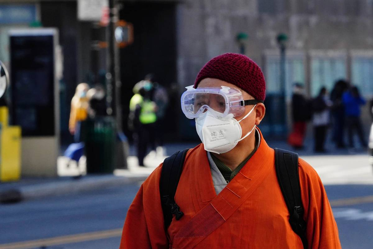 Dr. Fauci wants you to wear something else with your face mask