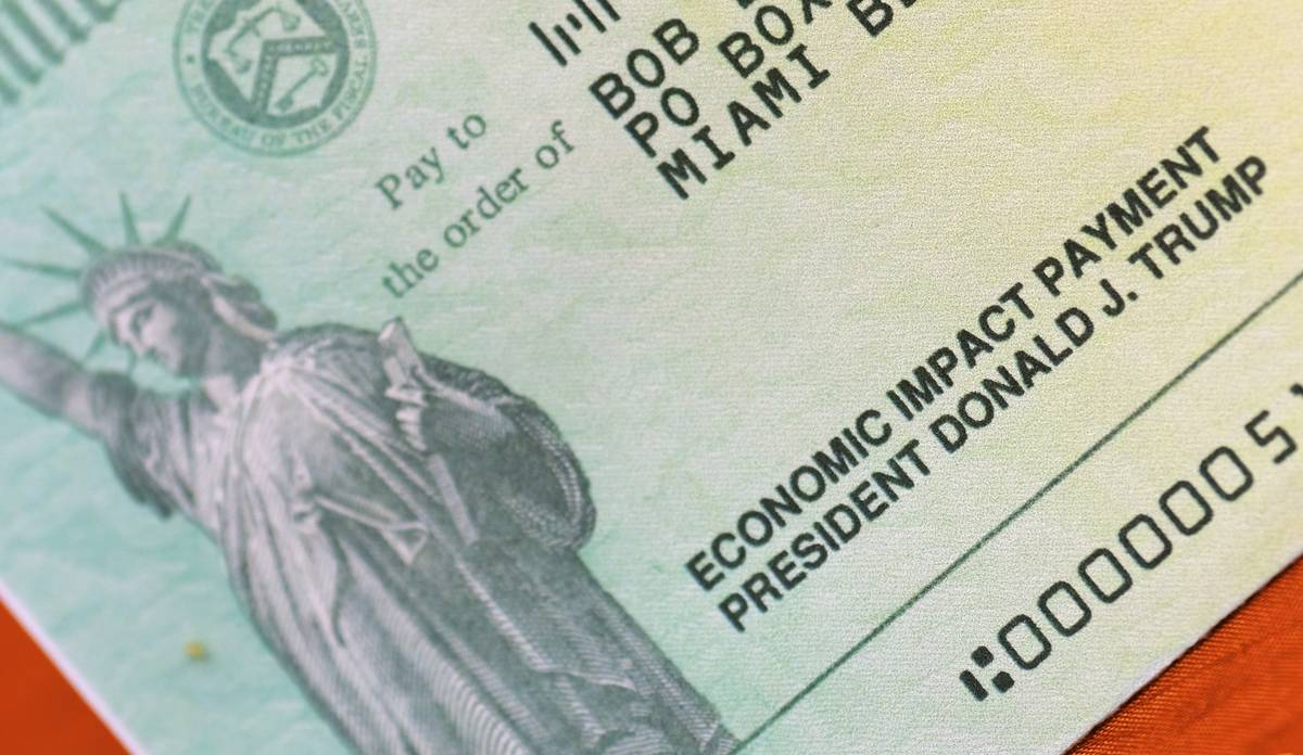 Most people will use their new stimulus check to just pay bills