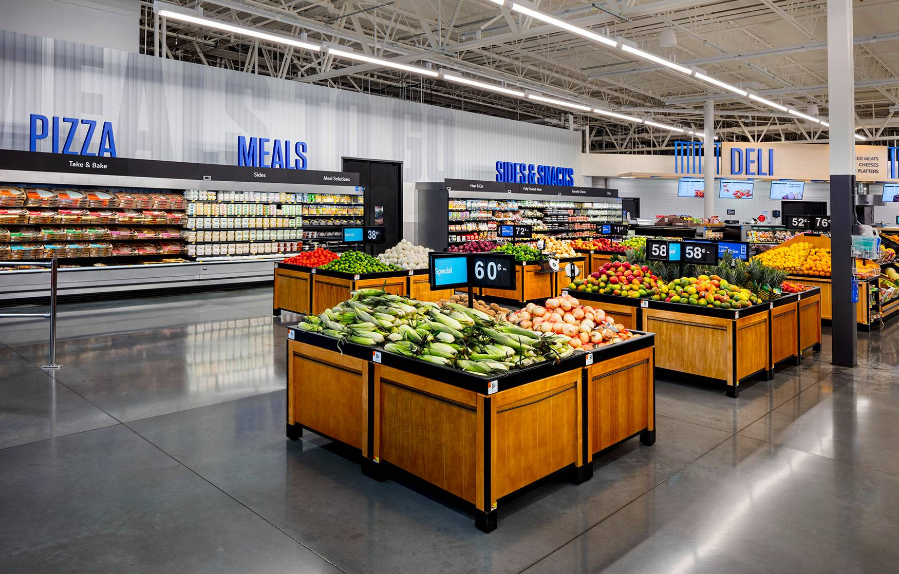 Walmart is changing its store design, and here's what it looks like