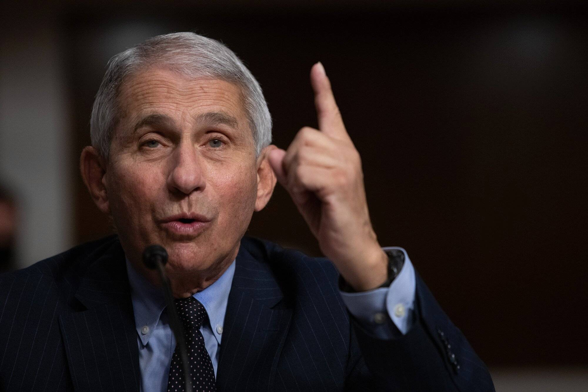 Dr. Fauci has bad news for sports fans